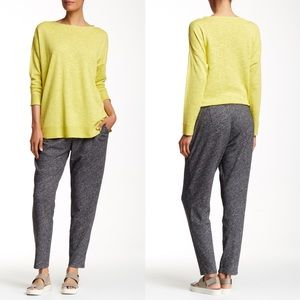 Eileen Fisher Wool Slouchy Harem Gray Pant