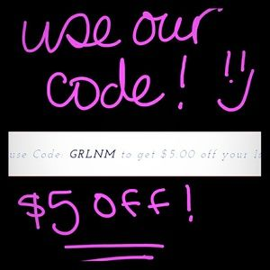 tswcouture Other - CODE $5 OFF!! COUPON CODE#GRLNM