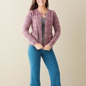 Matilda Jane Sweaters - Matilda Jane Plum Molly Cardigan