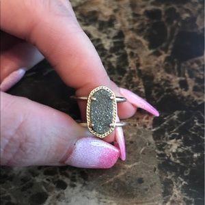 Elyse Drusy Kendra Scott Ring in Gold