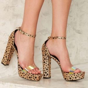 Shoes - Nasty Gal 'Touch The Sky' Platforms