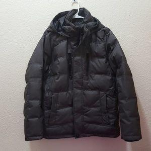 Hawke & Co Other - Hawke&Co. Faux Fur Collar Hooded Puffer Jacket