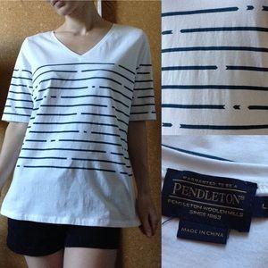 Pendleton Tops - PENDLETON Tee Shirt Love ARROW Gypsy Basic Comfy