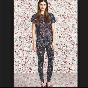 Mary Katrantzou for Topshop floral leggings