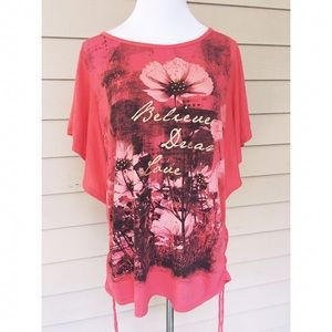 Style & Co Tops - Style & co Believe Dream Love Tee