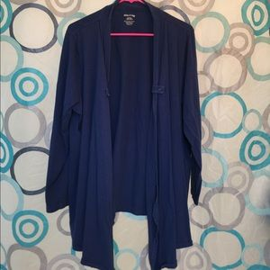 White Stag Sweaters - White Stag navy shrug long sleeves 2XL 18W-20W