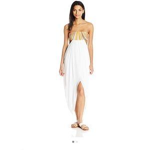 Mara Hoffman Dresses & Skirts - NWT! {Mara Hoffman} white maxi cover up dress!