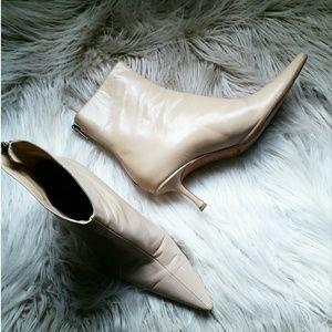 💕 Jimmy Choo Leather Pointed Toe Stiletto  Sz 9