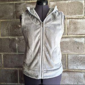 White Sierra Jackets & Blazers - Light Grey White Sierra Soft Vest S