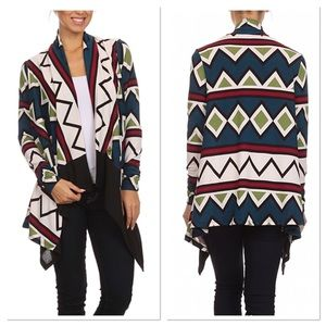 Diamond Open Cardigan