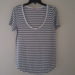 Juicy Couture Tops - Juicy Couture Striped Scoop Neck Top