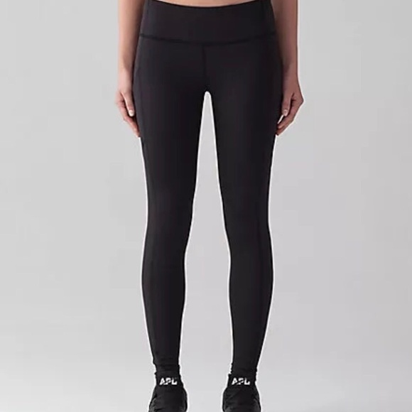 e0befdd9eb lululemon athletica Pants - Lululemon Sz 12 Woman Running Black Speed Tight  V