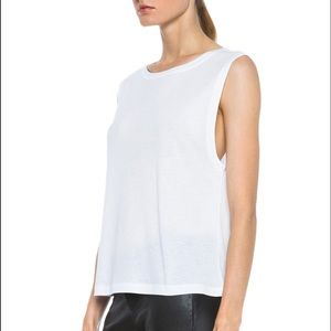 T by Alexander Wang Tops - T by Alexander Wang Single Jersey Muscle Tee