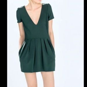 Zara green romper