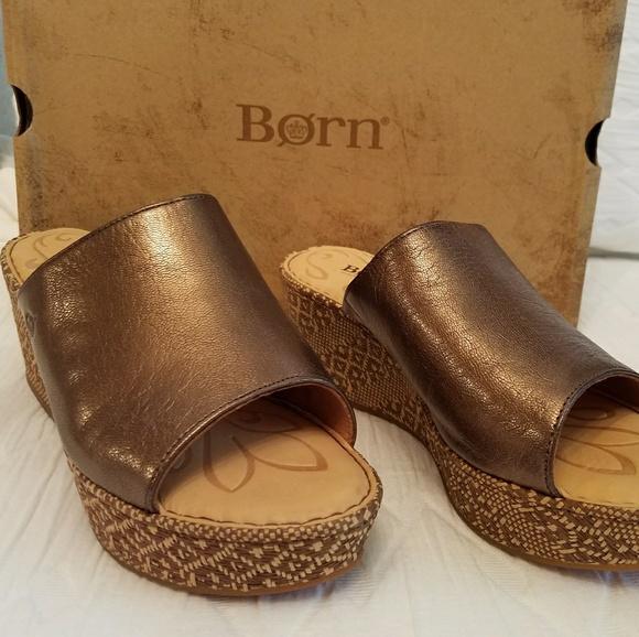 413ce420e8d8 Born Shoes - 🔻BORN Tilda woven sandals BRONZE