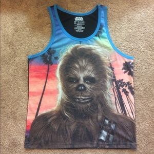 Star Wars Other - Star Wars Wookie at the Beach Tank Top