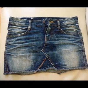 Dresses & Skirts - Jean skirt, great condition, fits true small