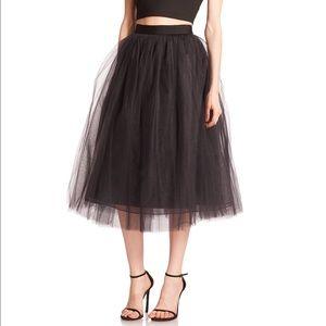 Elizabeth and James Dresses & Skirts - Elizabeth and James Everleigh Tulle Midi Skirt