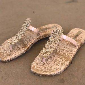 Melissa Shoes - Melissa Boho Floral Jelly Flip Flop Sandals