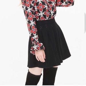 Sandro Paris Mini Skirt Black Size 1