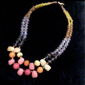 Anthropologists embellished and beaded Necklace