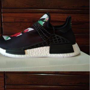 online store 125e6 497b5 Custom Pharrell human race NMD shoe Off-White NWT