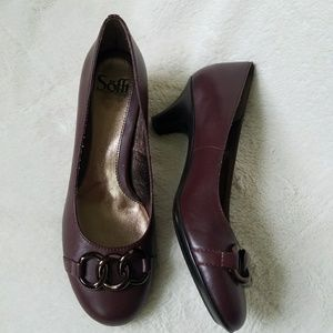 Sofft Shoes - NWOT Sofft Marin Maroon Leather Pump
