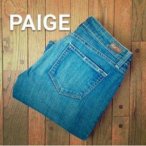 Paige Petite Canyon bootcut FINAL PRICE