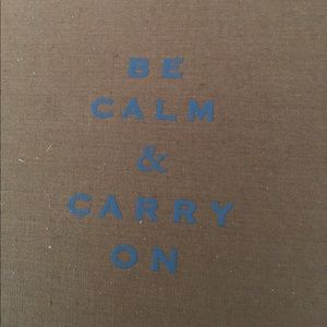 Target Other - BE Calm & Carry on Photo album. New