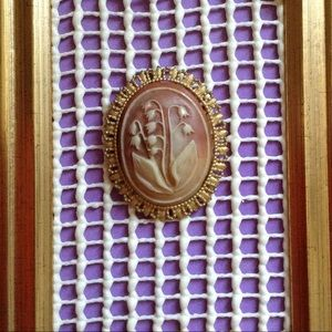 Vintage Jewelry - 💫Grandmother's Bluebell Bonnet True Vintage Pin