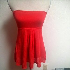 Tops - NWT Banana Republic Strapless Flare Top
