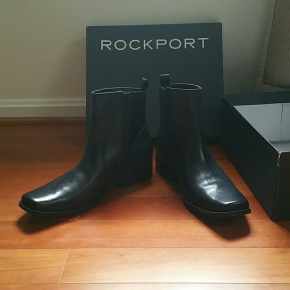 Nib Mens Rockport Ankle Boots