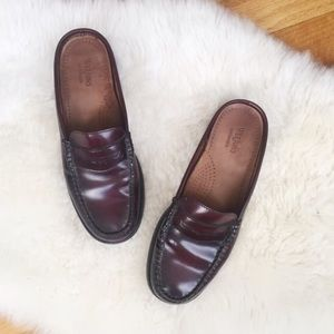 Bass Weejuns Loafer Mules