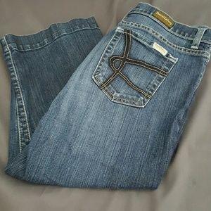 David Kahn Denim - David Kahn Cropped Jeans, Petite