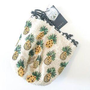 Zara Pineapple Bucket Bag
