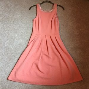 Francesca's Collections Dresses & Skirts - LIKE NEW Peach A-line Dress