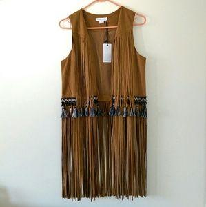 Loveriche Jackets & Blazers - Boho long fringe festival vest