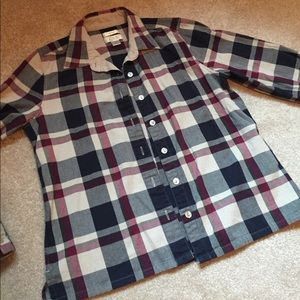 Christopher & Banks Tops - LIKE NEW flannel