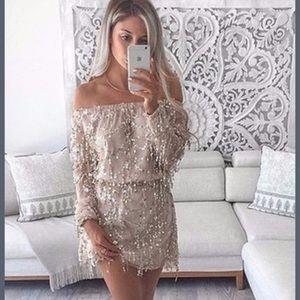 Posh Garden Dresses & Skirts - The Dogwood Dress: Gold/Nude Dress