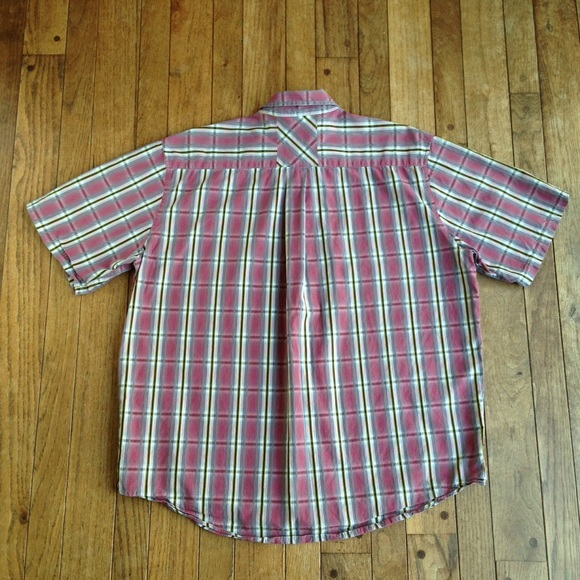80 off cabela 39 s other cabela 39 s red plaid short sleeve for Cabela s columbia shirts
