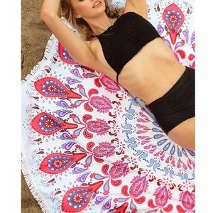 Fabfindz Other - Microfiber Terry Cloth Beach Cover Up/ Throw
