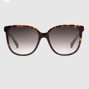 Gucci Accessories - Gucci Square Frame Acetate Sunglasses