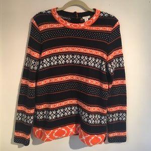 J. CREW winter sweater