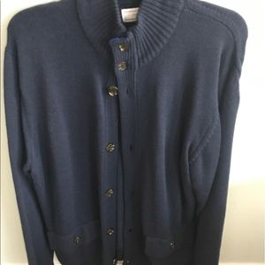Men's button down sweater large