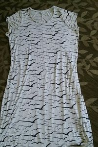 Simply Be Dresses & Skirts - Seagull Print Maxi Dress