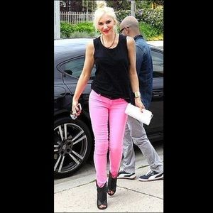 TEXTILE Elizabeth and James Denim - Elizabeth & James Textile Mick Pink Skinny Jeans