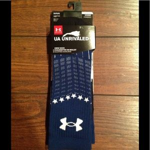 Under Armour Other - Under Armour Unrivaled Crew Socks!