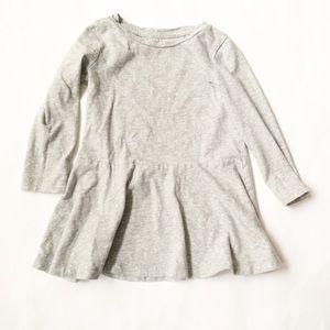 GAP Other - BABY GAP [baby girl] Gray white dot Tunic Top