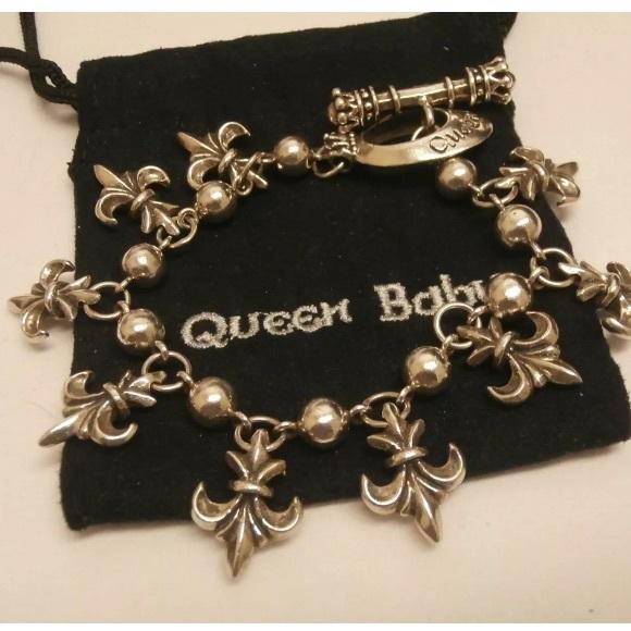 Fleur De Lis Charm Bracelet: 47% Off King Baby Studio Jewelry