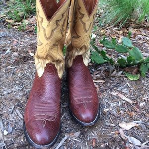 Lucchese Other - Lucchese 2000 shark skin Cowboy boots.  Size 11D